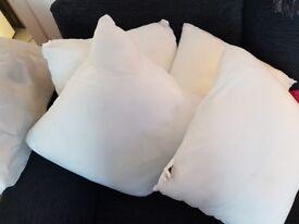 4 x homebase cushions (no covers)