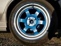 15 inch Rota grids alloy wheels.