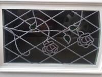 UPVC Beveled Rose Front Door