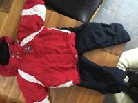 Children's Degree 7 ski jacket & salopettes- age 2 yrs