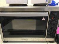 Morphy Richards oven cooker worktop freestanding