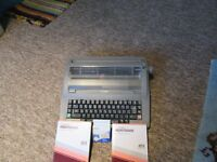 electronic typewriter vgv little use