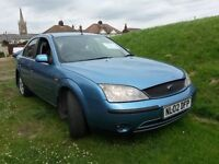 Ford Mondeo 2002 2.0 TDDI, 164000 mls - very good contition,ONE YEAR- MOT