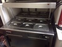 Used Lincat carvery units x2 (sold as set) - collection only