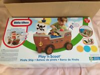 Little Tikes Play 'n' Scoot Pirate Ship Playset