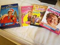 Mrs Brown's dvds