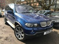 06 plate - BMW X5 - face lift - fully loaded - leather heated seats - sun roof - one year mot