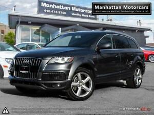2011 AUDI Q7 S-LINE 3.0T QUATTRO SUPERCHARGED |NAV|CAMERA|7PASS