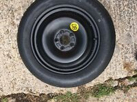 Ford Focus spare tyre