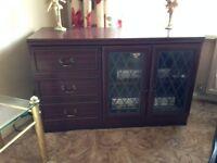 Mahagony TV Cabinet