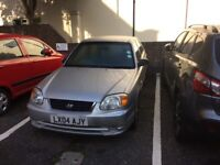 CHEAP HYUANDAI ACCENT 1.3 GSi ONLY £500