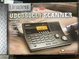Uniden 360 base scanner