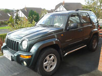 2003 Jeep Cherokee Limited Edition 4x4 - LPG - MOT to May 2017 - £1650