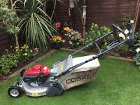 Honda Cobra Petrol Lawnmower Hydrostatic Drive 21""