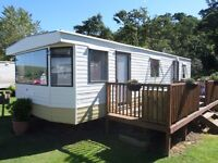 1998 ABI Supreme static caravan for sale at Chesterfield Country Park in Berwickshire