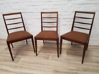 Three Mcintosh Dining Chairs (DELIVERY AVAILABLE)