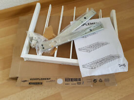IKEA Pull-out trouser hanger White KOMPLEMENT 50x35 NEW