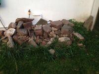 Cheap garden stones