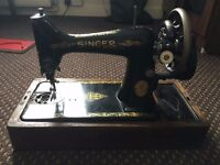 Singer Sewing Machine with Box