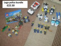 lego police bundle sold as seen collection only from Didcot from a smoke and pet free home