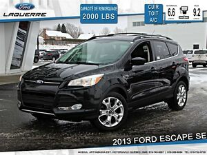 2013 Ford Escape **SE*ECOBOOST*AWD*CUIR*TOIT*CRUISE*A/C**