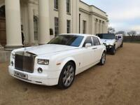 Rolls Royce Phantom £250 / Ghost £300 / Wedding Car Hire London / Hummer Limousine Hire £450