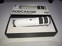 Rode Podcaster Microphone Includes Rode PSA1 Studio Arm 7 Year Warranty Remaining