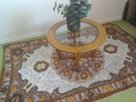 Sixties rug,vintage,quite large. C