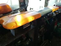 recovery orange becon, light bar, large about 4 ft long