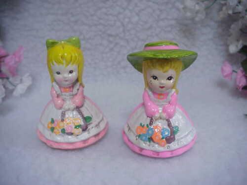 Young Girls -Tape Measure & Pin Cushion - Josef Original Sewing Collectibles