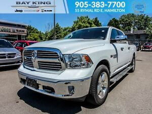 2017 Ram 1500 BIG HORN CREW CAB, BACKUP CAM, SIDE STEPS