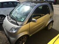 Silver on silver Smart City -coupe
