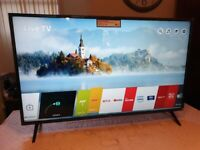 BRAND NEW BOXED LG 43 INCH 43UN80006LC SMART 4K UHD HDR LED TV WITH WIFI, APPS,FREEVIEW & FREESAT HD