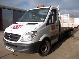 2007 Mercedes-Benz Sprinter 313 CDI LWB 3.5t Flatbed