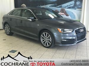 2015 Audi A3 1.8T Progressiv S-Line : LEATHER, SUNROOF, NAV