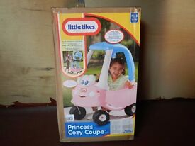 Little Tikes Princess Cozy Coupe - Still brand new in box