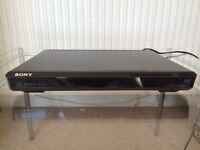Sony DVD player, including remote and high quality SCART lead