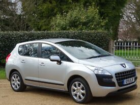 2011 Peugeot 3008 1.6 HDi FAP Active EGC 5dr AUTOMATIC + LOW MILEAGE