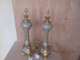 Large Ornate Lamps