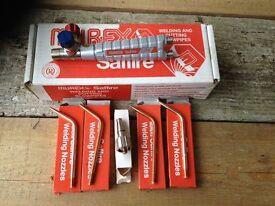 Murex Saffire 3 welding mixer, head and nozzles (Brand New)