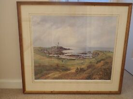 GOLF COURSE PAINTING/PRINT