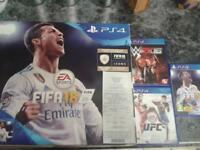 ps4 new with recite and two extra games