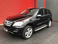 2009 MERCEDES ML CDI SPORT 7G FACELIFT