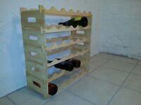 Wooden Wine Rack, as picture, fully assembled