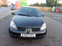 Renault Clio 1.2 Campus Sport I-Music 3dr+2 x keys,Long MOT of 12 Months