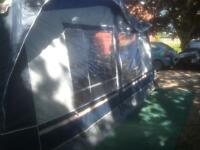 Dorema exclusive caravan awning all weather
