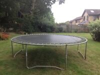 Good condition 12ft trampoline.