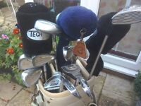 Set of Ladies Right Hand Golf Clubs with Golf Bag and Golf Balls