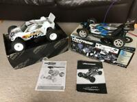 2 x brushed RC remote controlled cars plus extras