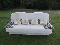 Designer 3 Seater Settee/Sofa Bed